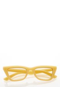 Yellow Cat Eye Sunglasses