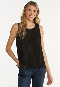 Solid Pleated Tank