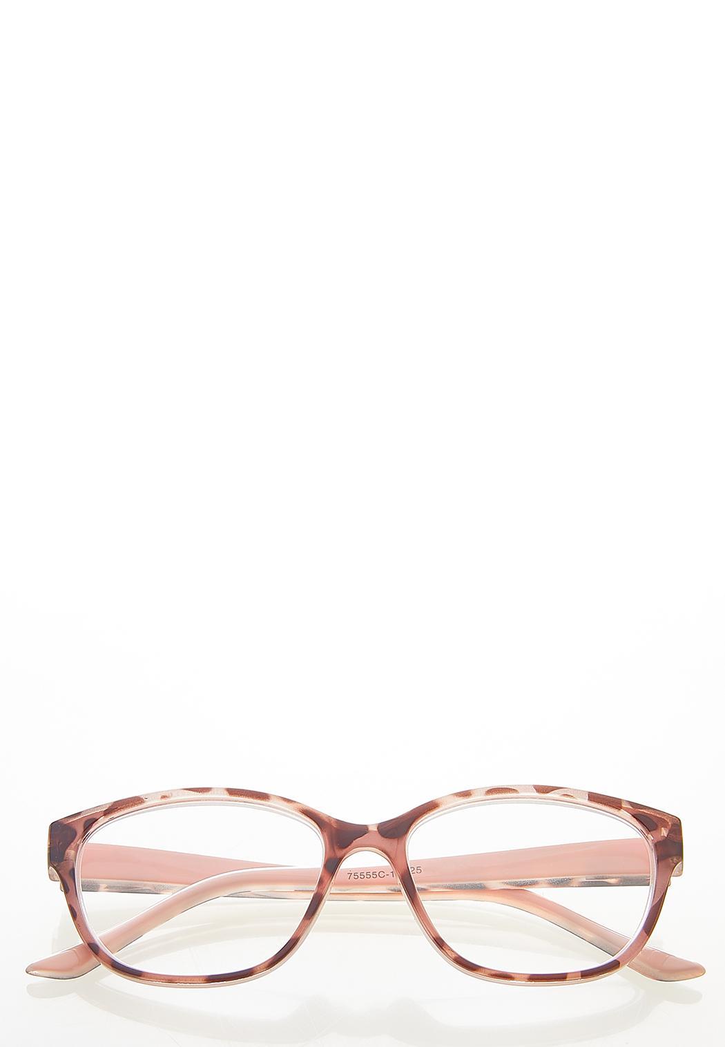 Pink Tortoise Reader Glasses
