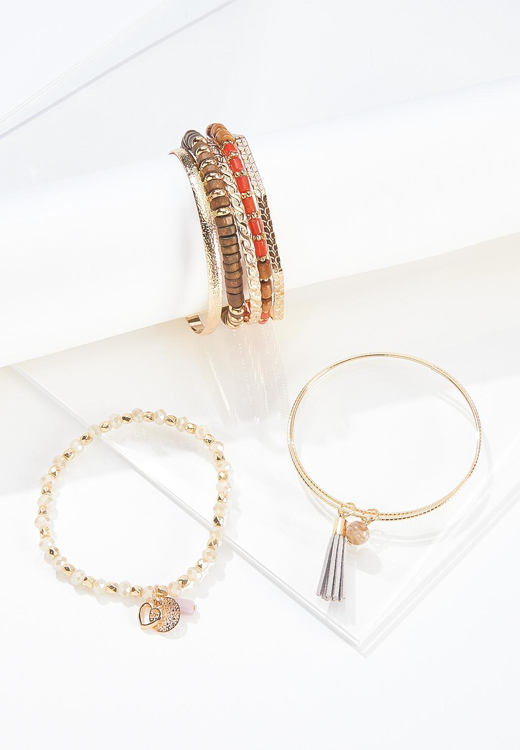 Mixed Bundled Bracelet Set