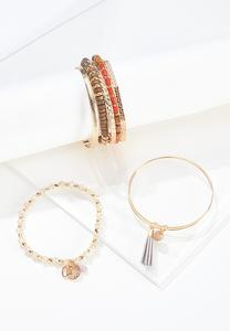 Mixed Bundled Bracelet Set