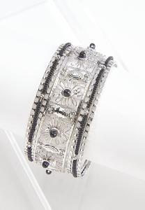 7 Row Bangle Bracelet Set