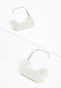 Rectangle Resin Earrings