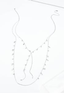 Delicate Shaky Charm Y-Necklace