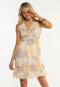 Moments Abroad Babydoll Dress