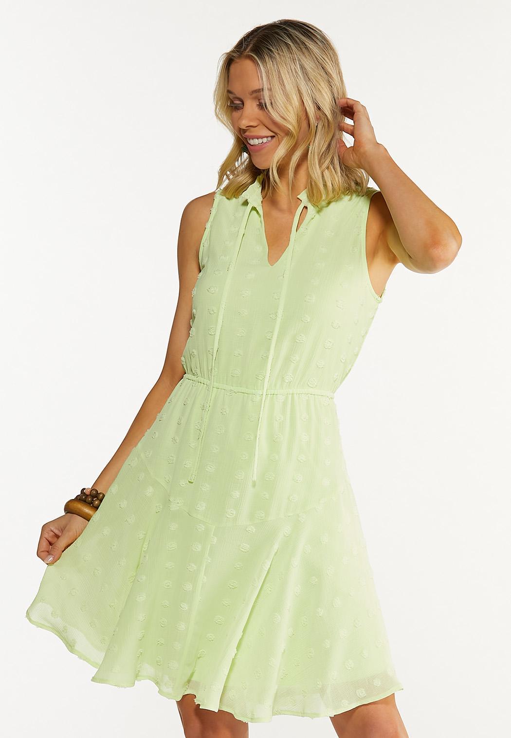 Tiered Textured Dress