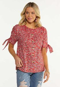 Flame Floral Convertible Top