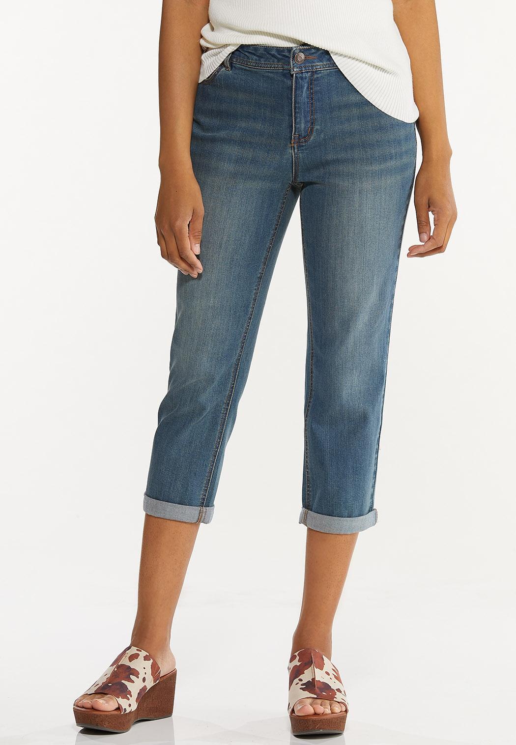 Girlfriend Cropped Jeans