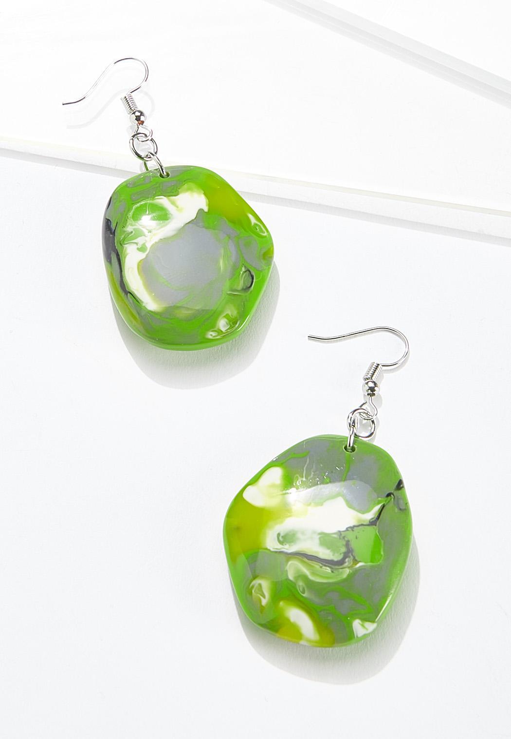 Citrus Resin Earrings