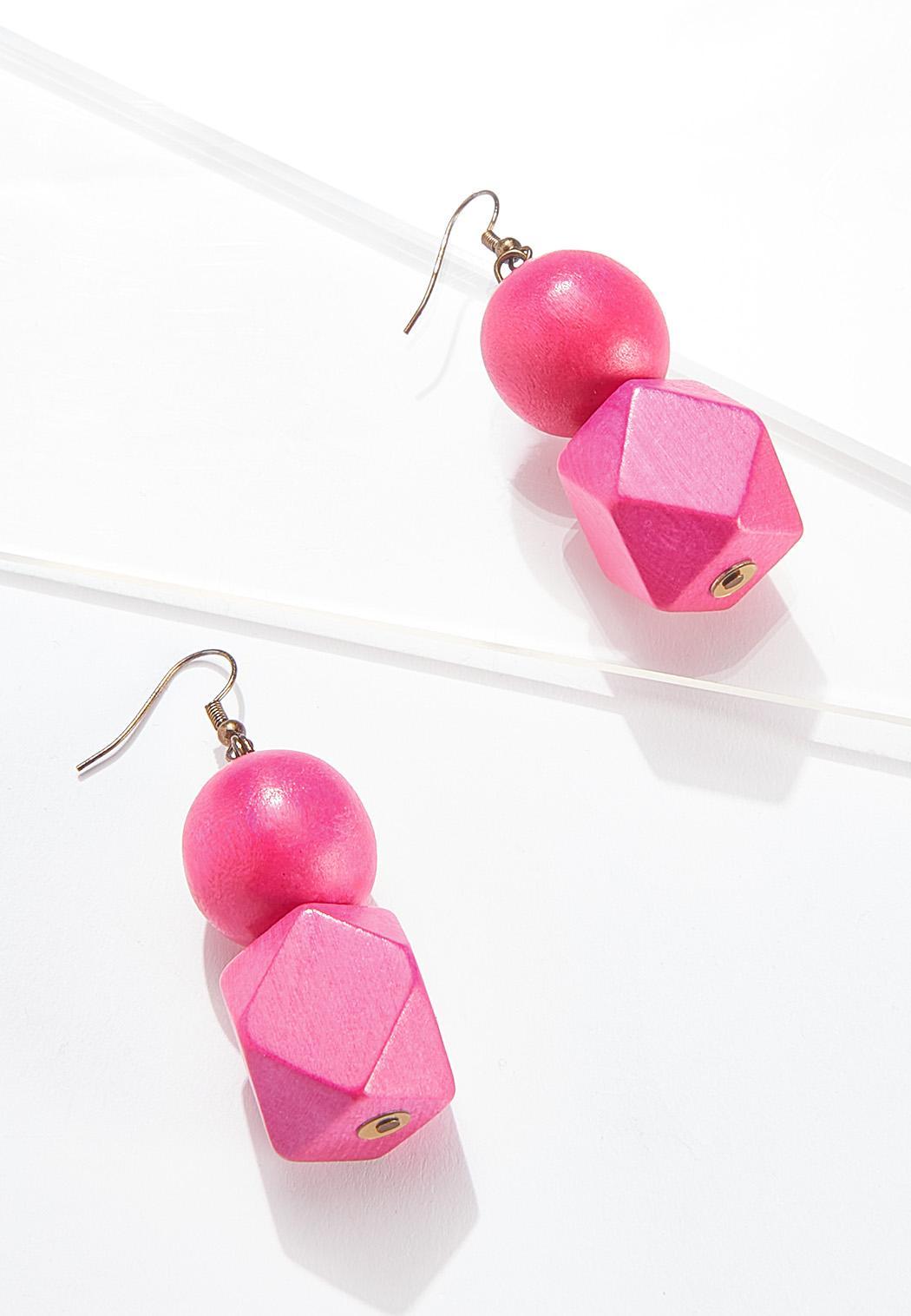 Geo Bead Earrings