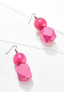Geo Bead Earrings