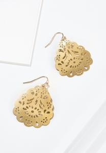 Lacy Metal Earrings