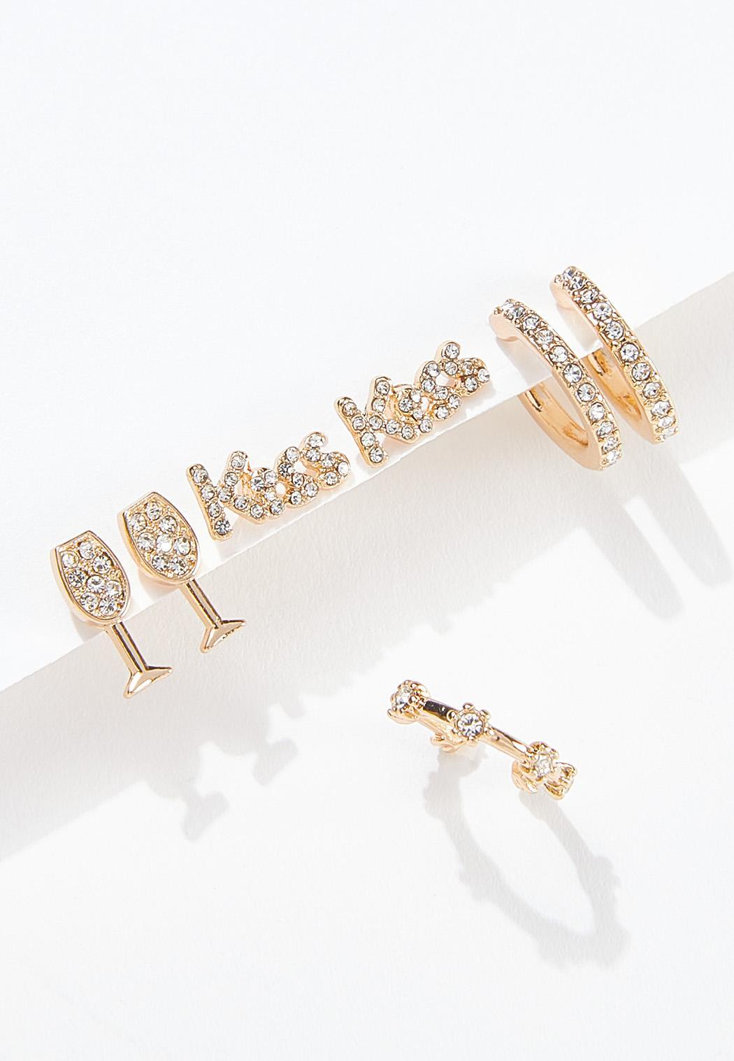 Date Night Stone Earring Set
