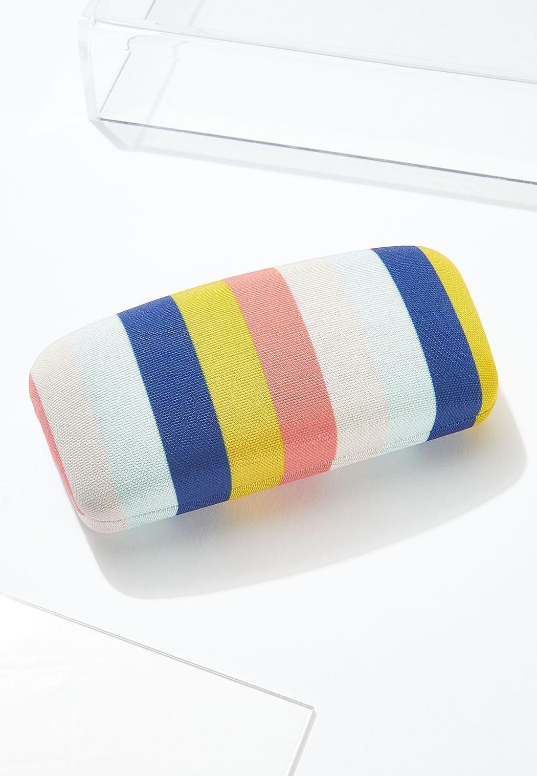 Striped Sunglasses Case
