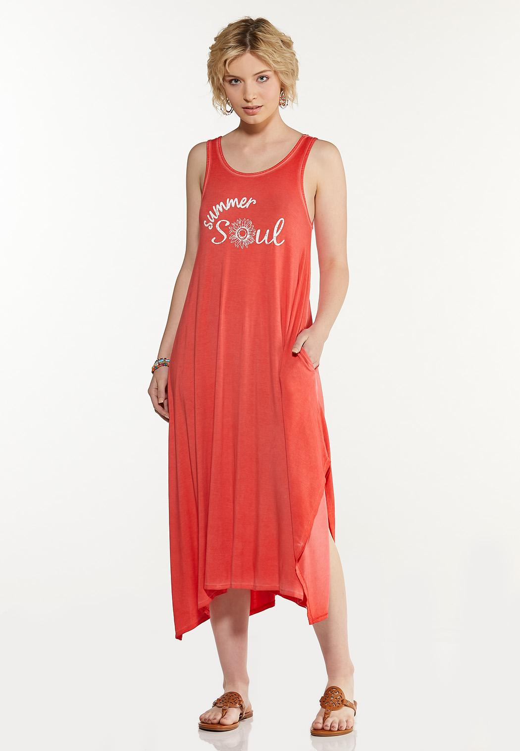 Summer Soul Tank Dress