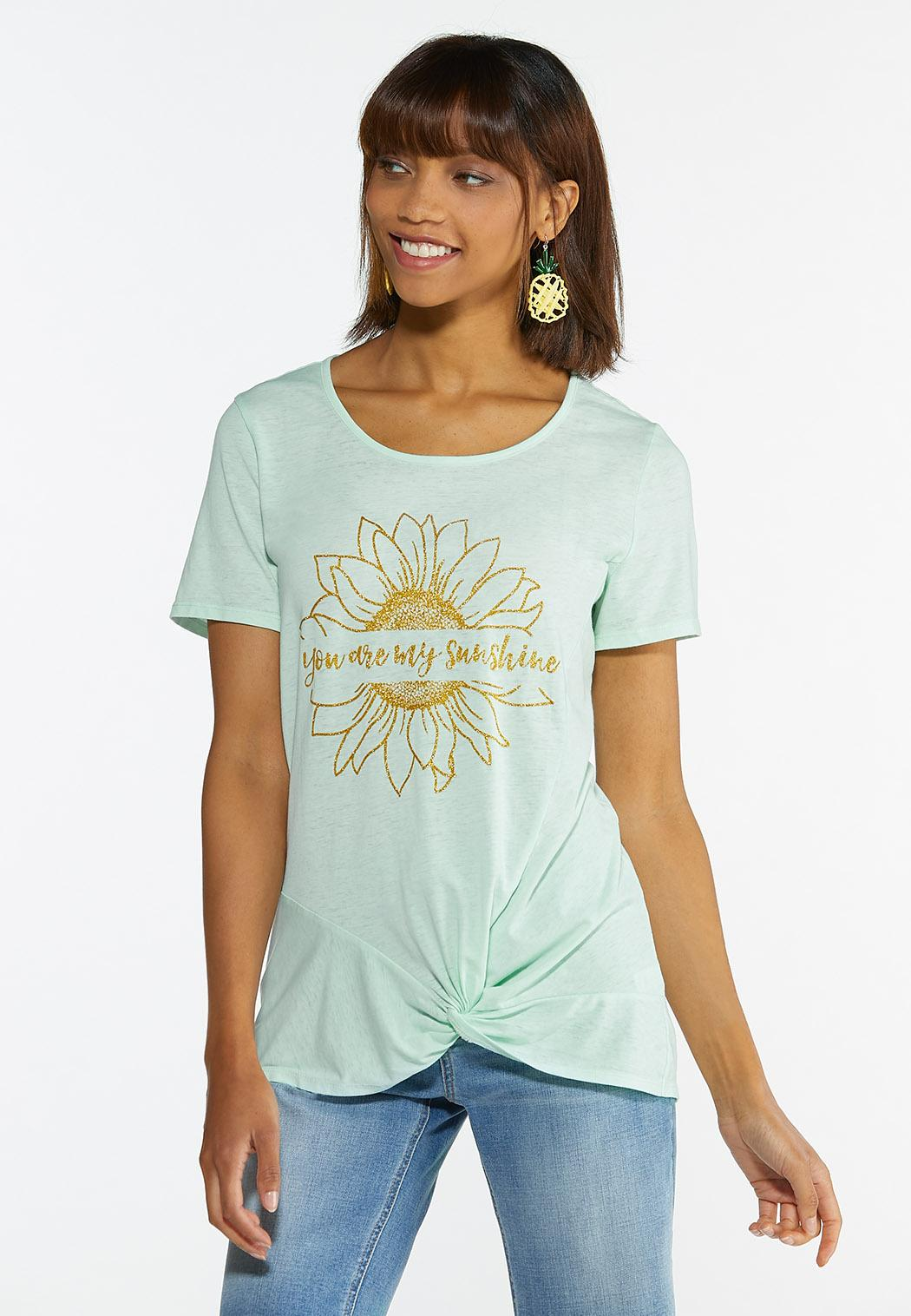 Plus Size You Are My Sunshine Tee