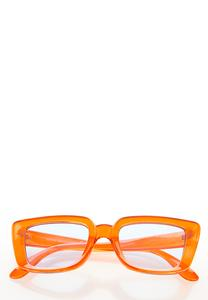 Orange Fashion Sunglasses