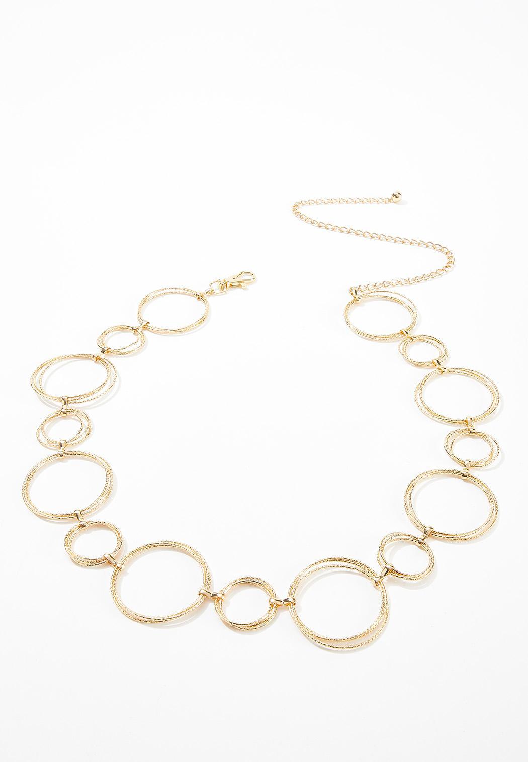 Gold Hoop Chain Belt