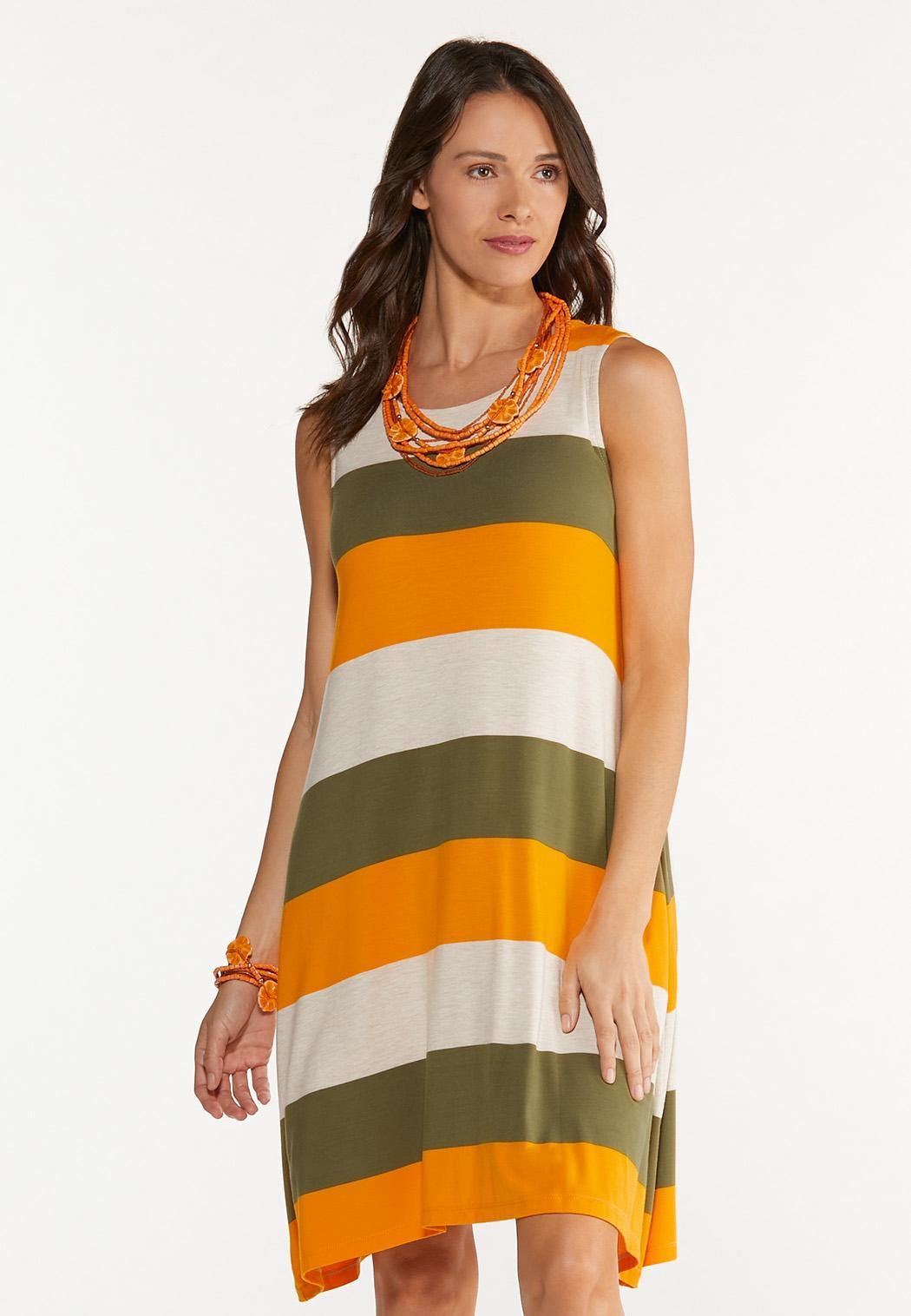 Citrus Colorblock Dress