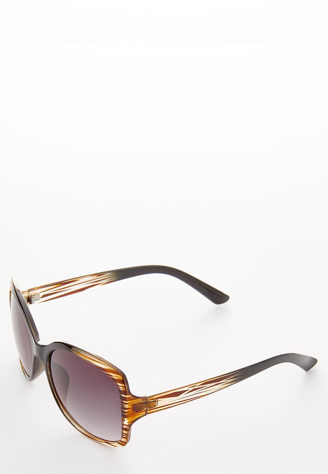 Ombre Square Sunglasses (Item #36088151)