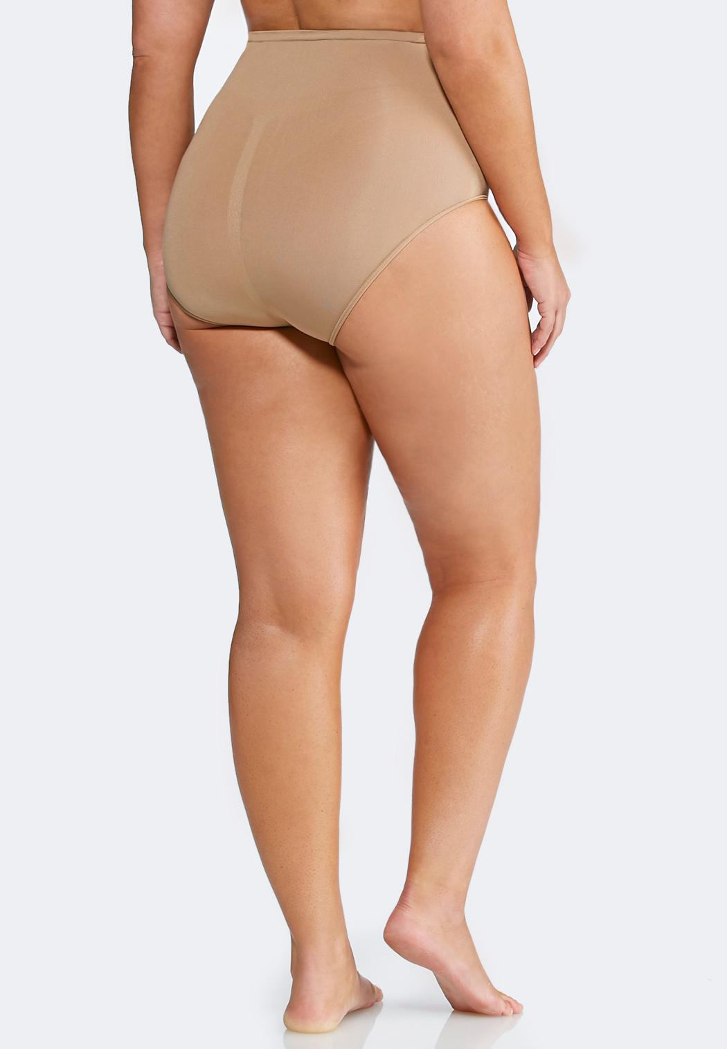 Plus Size Nude Seamless Control Panty (Item #36331809)