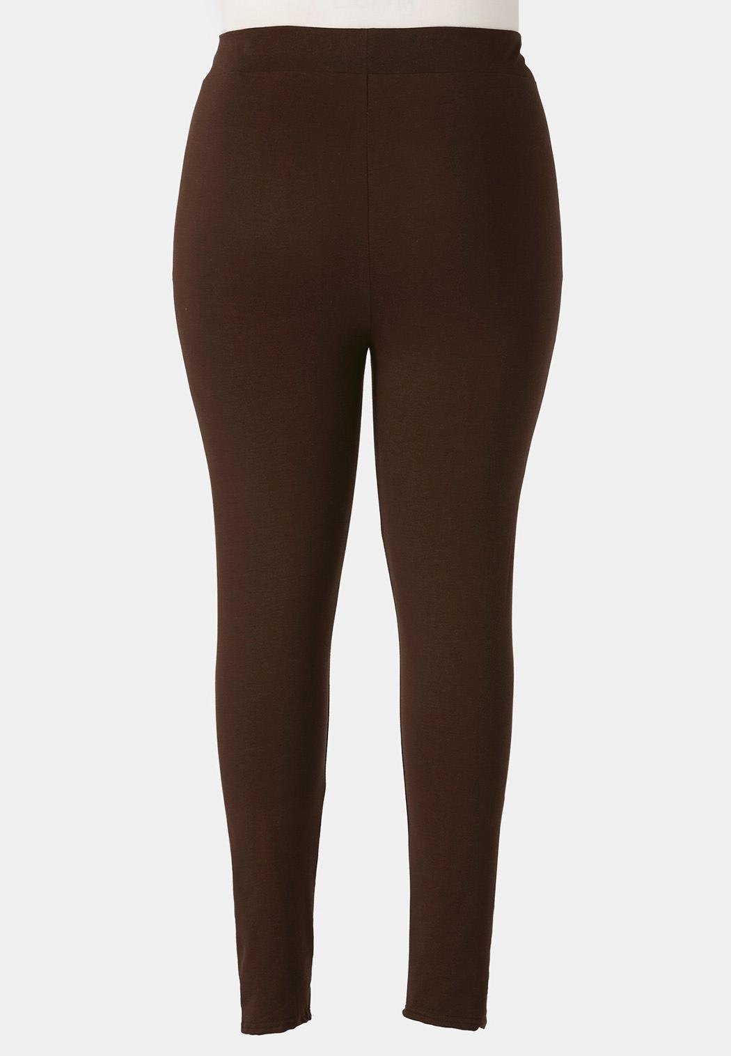 Plus Size Essential Leggings (Item #37609690)