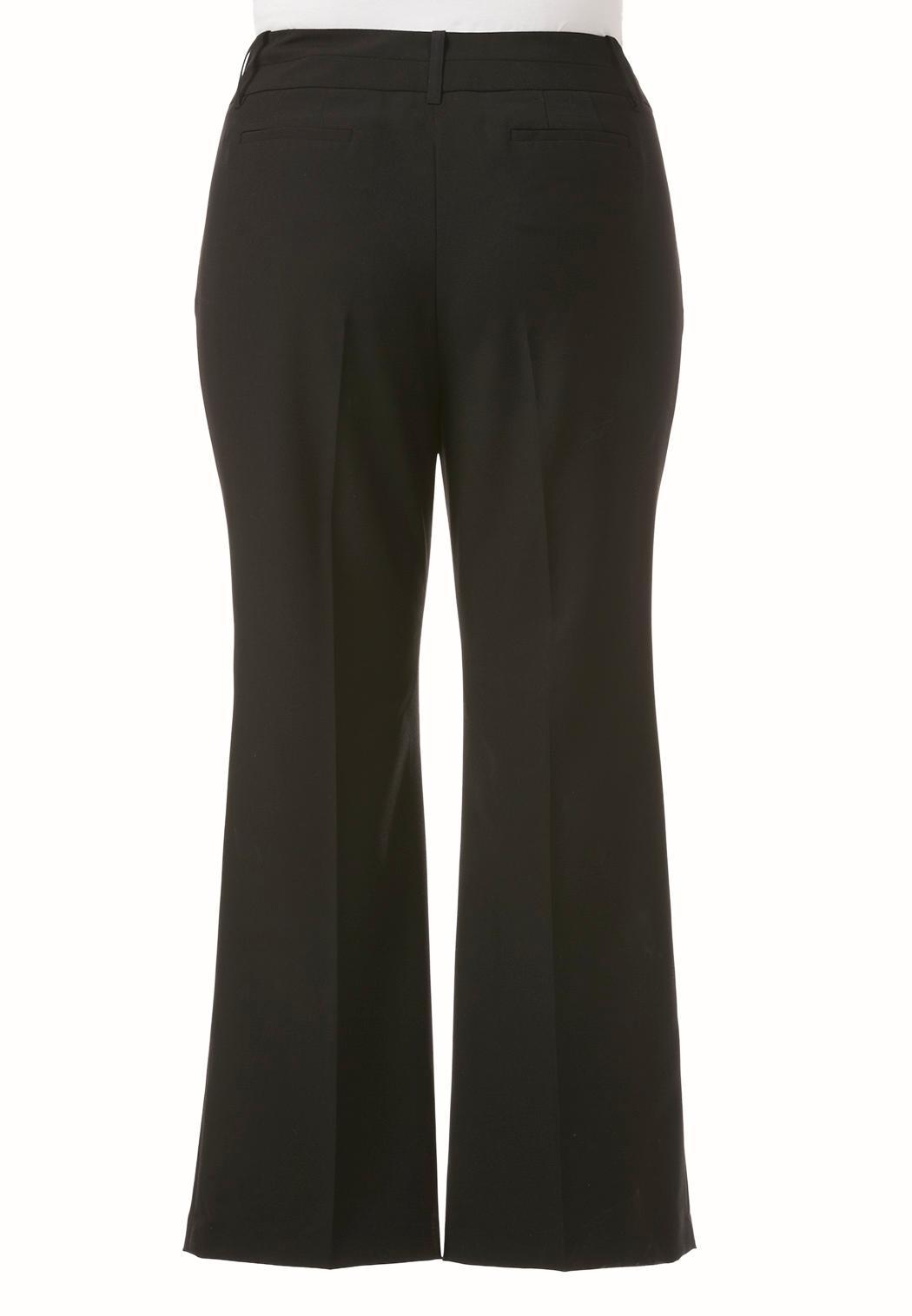 Plus Size Curvy Shape Enhancing Trousers (Item #37635687)