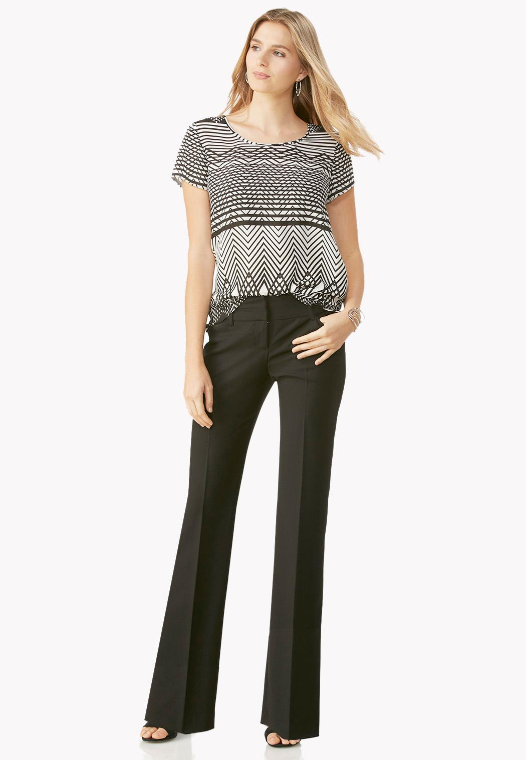 Petite Contemporary Fit Essential Trousers (Item #37638715)