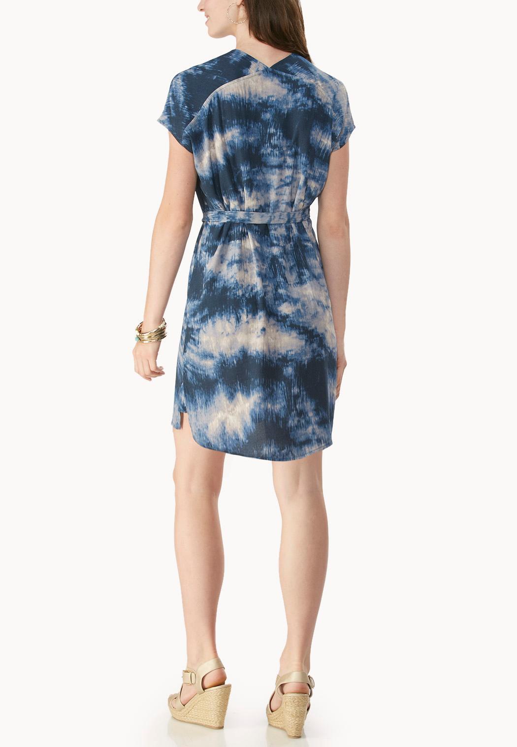 belted tie dye dolman dress plus plus sizes cato fashions