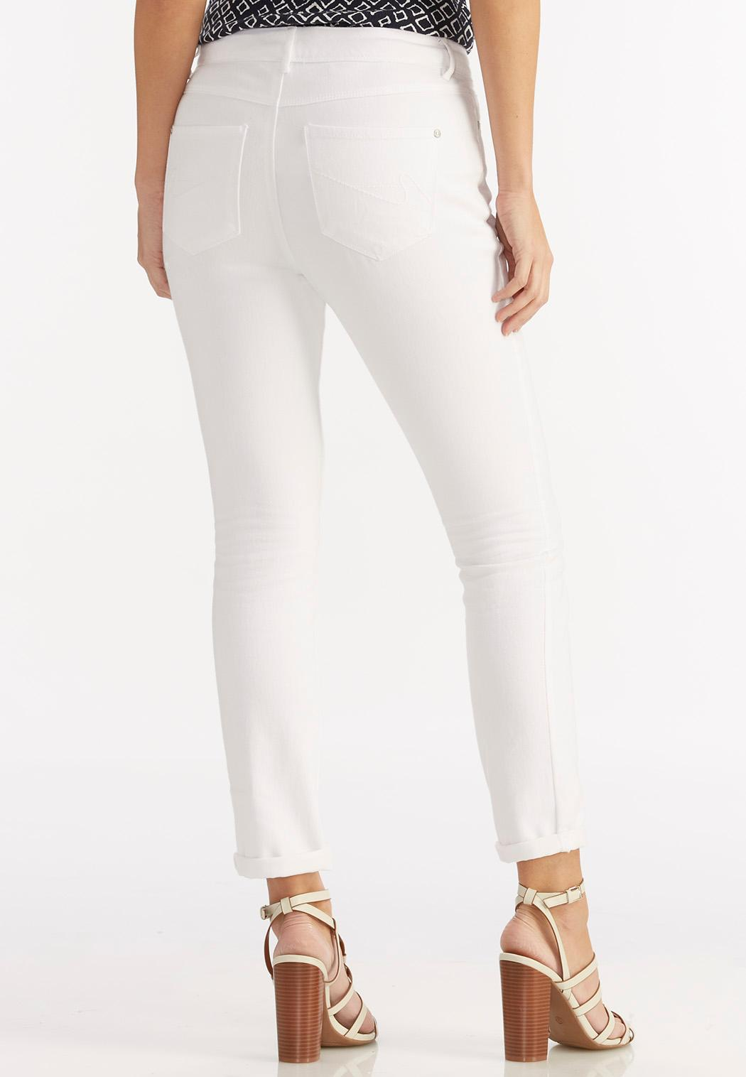 Optic White Skinny Ankle Jeans Ankle Pants Cato Fashions