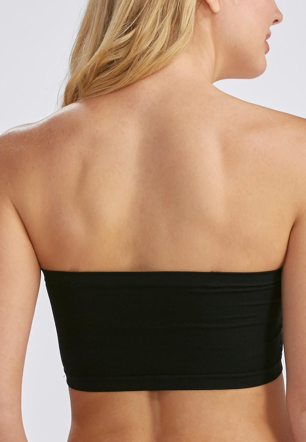 Seamless Ruched Strapless Bra Bras Cato Fashions 20ef2ac7c