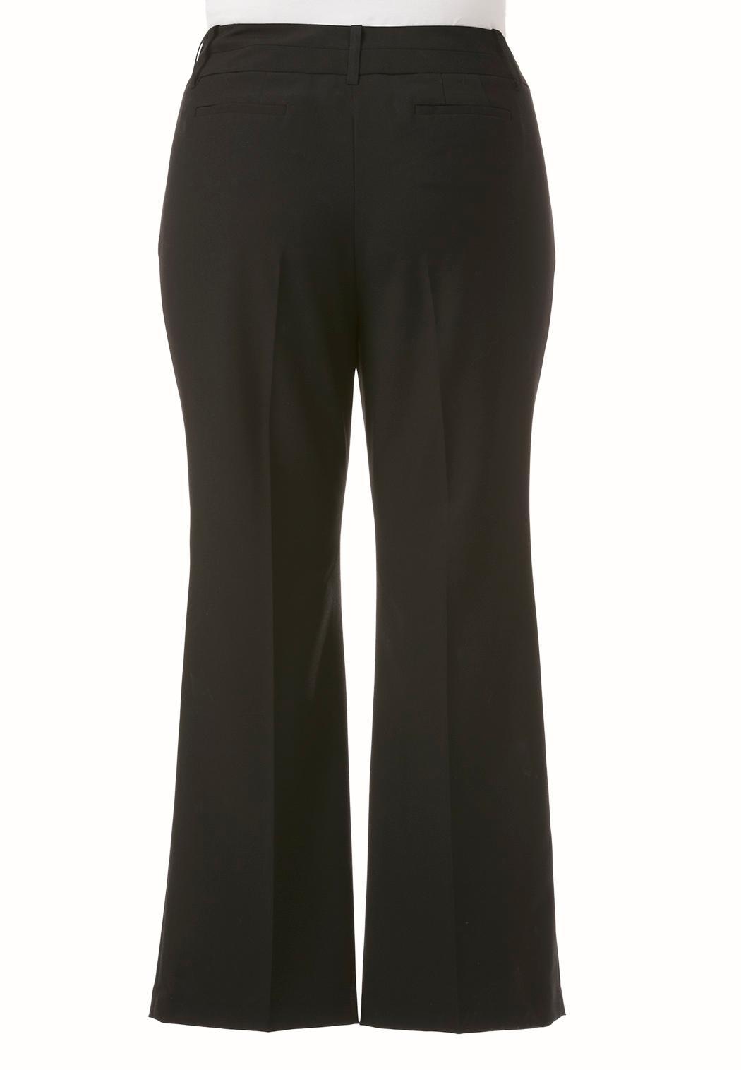 Plus Extended Curvy Shape Enhancing Trousers (Item #43553796)