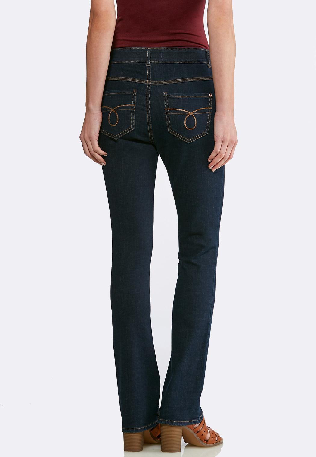 Petite Dark Bootcut Jeans (Item #43639230)