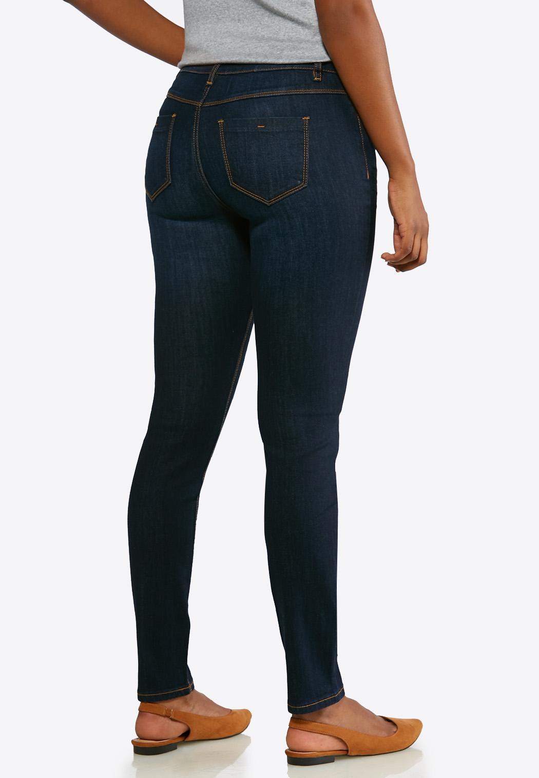 Petite Dark Denim Jeans (Item #43664795)