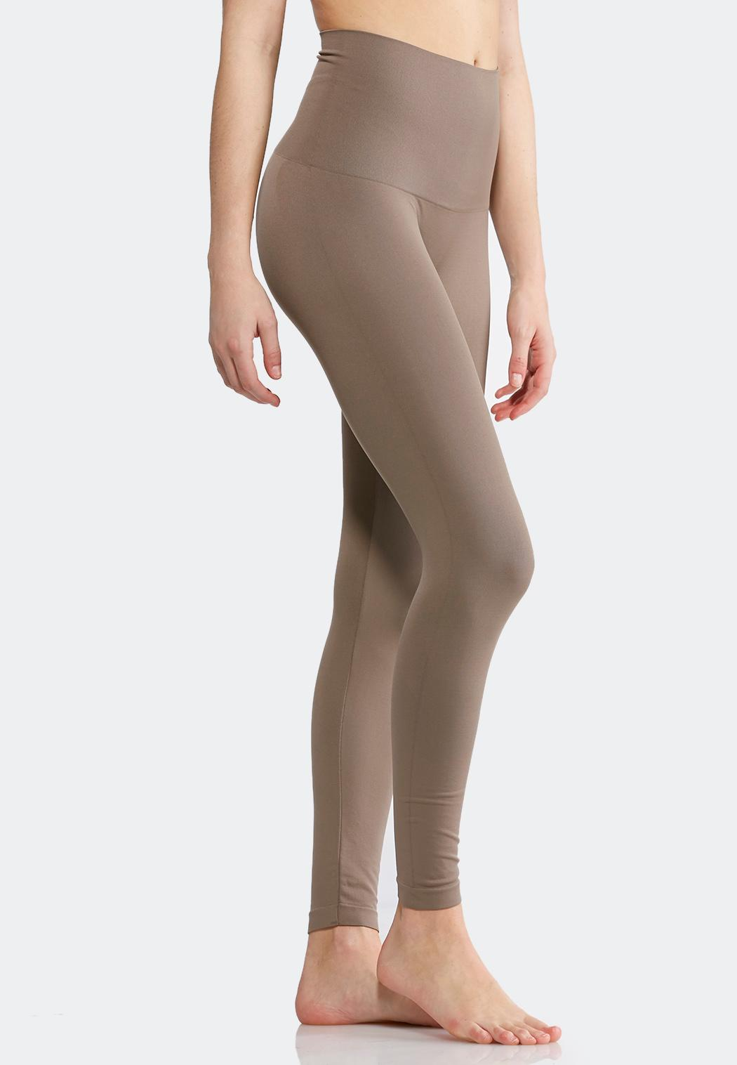 bba773a505d Extended Size The Perfect Taupe Leggings Shapewear Cato Fashions