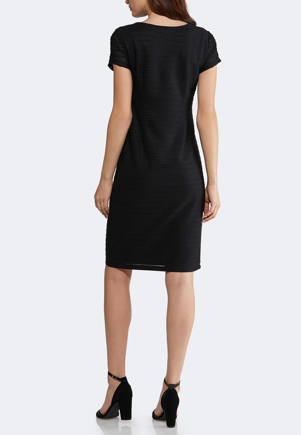 1776f11492a1 Plus Size Solid Textured Midi Dress alternate view ...