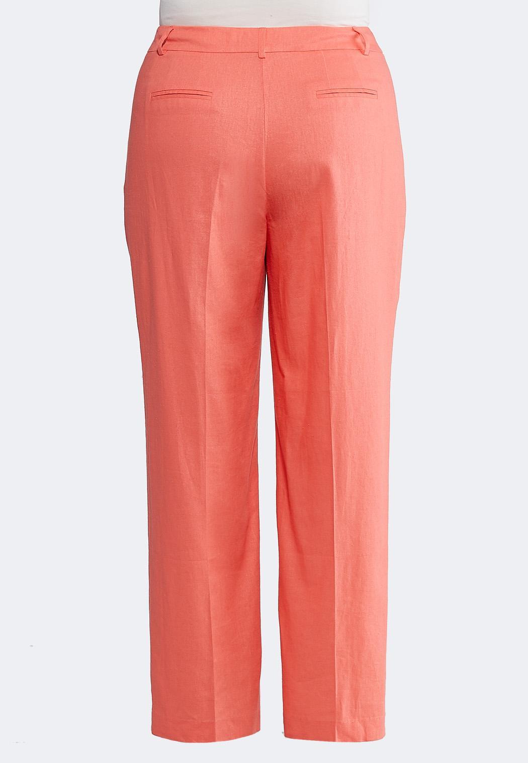 fc0a38aba79 Plus Size Linen Trouser Pants Wide Leg Cato Fashions