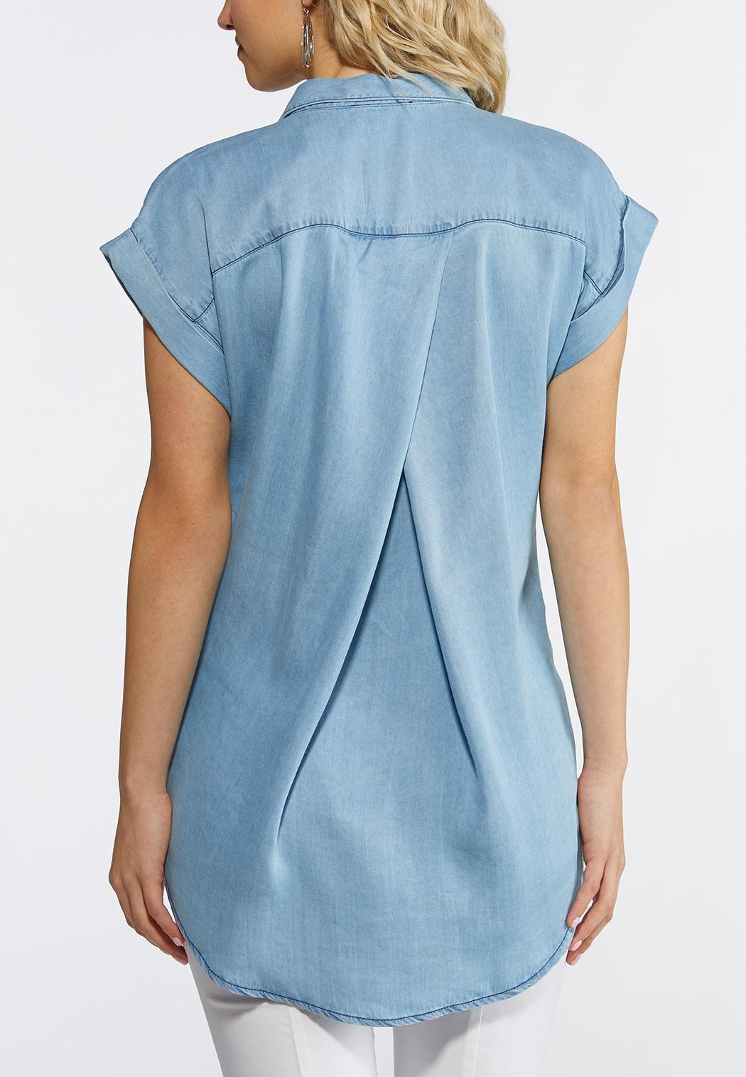 Button Down Chambray Shirt (Item #43744113)