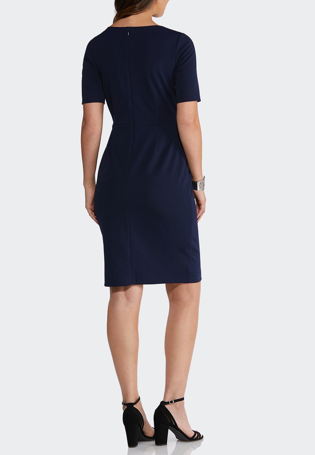 Tie Waist Sheath Dress (Item #43749484)