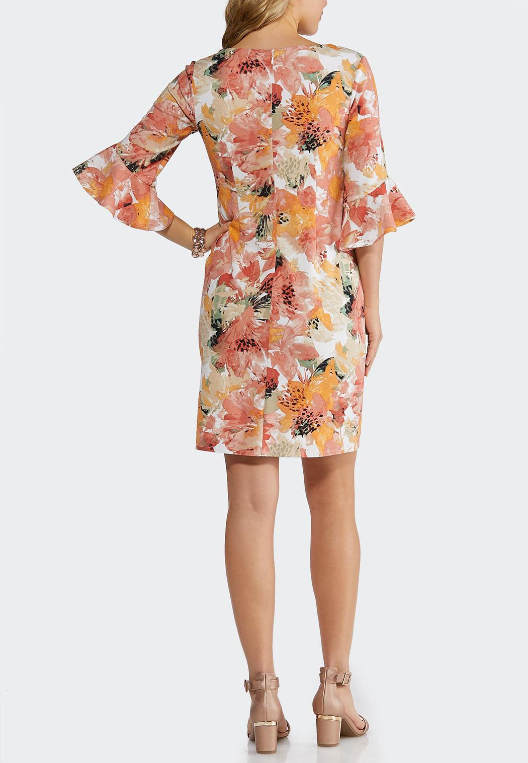 bfd9c8d29cdc2 Plus Size Shell Pink Floral Dress Plus Sizes Cato Fashions