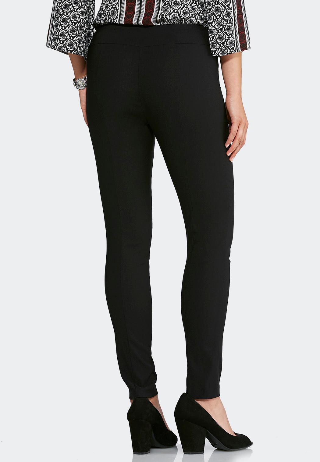 Petite Pull-On Solid Slim Pants (Item #43798546)