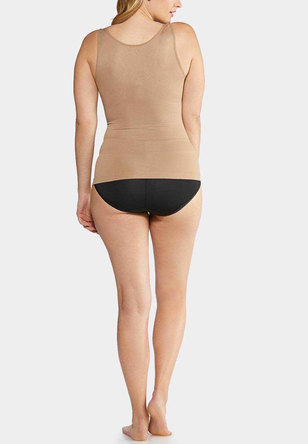 5f84f4b589567 Plus Extended Nude Seamless Shaping Cami Shapewear Cato Fashions