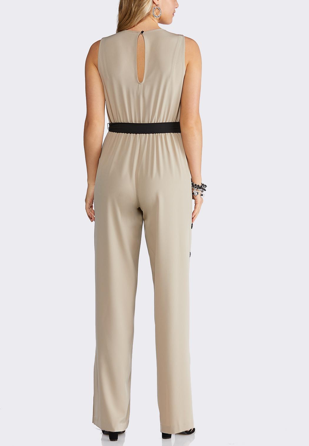 8716ef4d96f Plus Size Button Pant Jumpsuit Jumpsuits Cato Fashions
