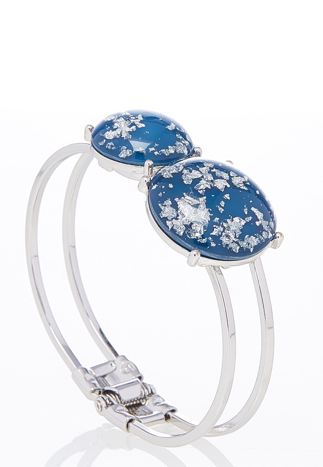 Glittery Disc Cuff Bracelet (Item #43831952)