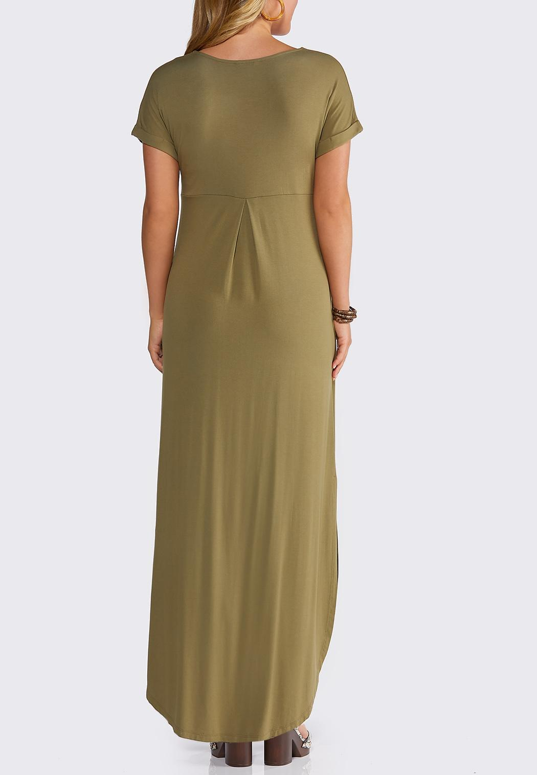 Strappy V-Neck Maxi Dress (Item #43834113)