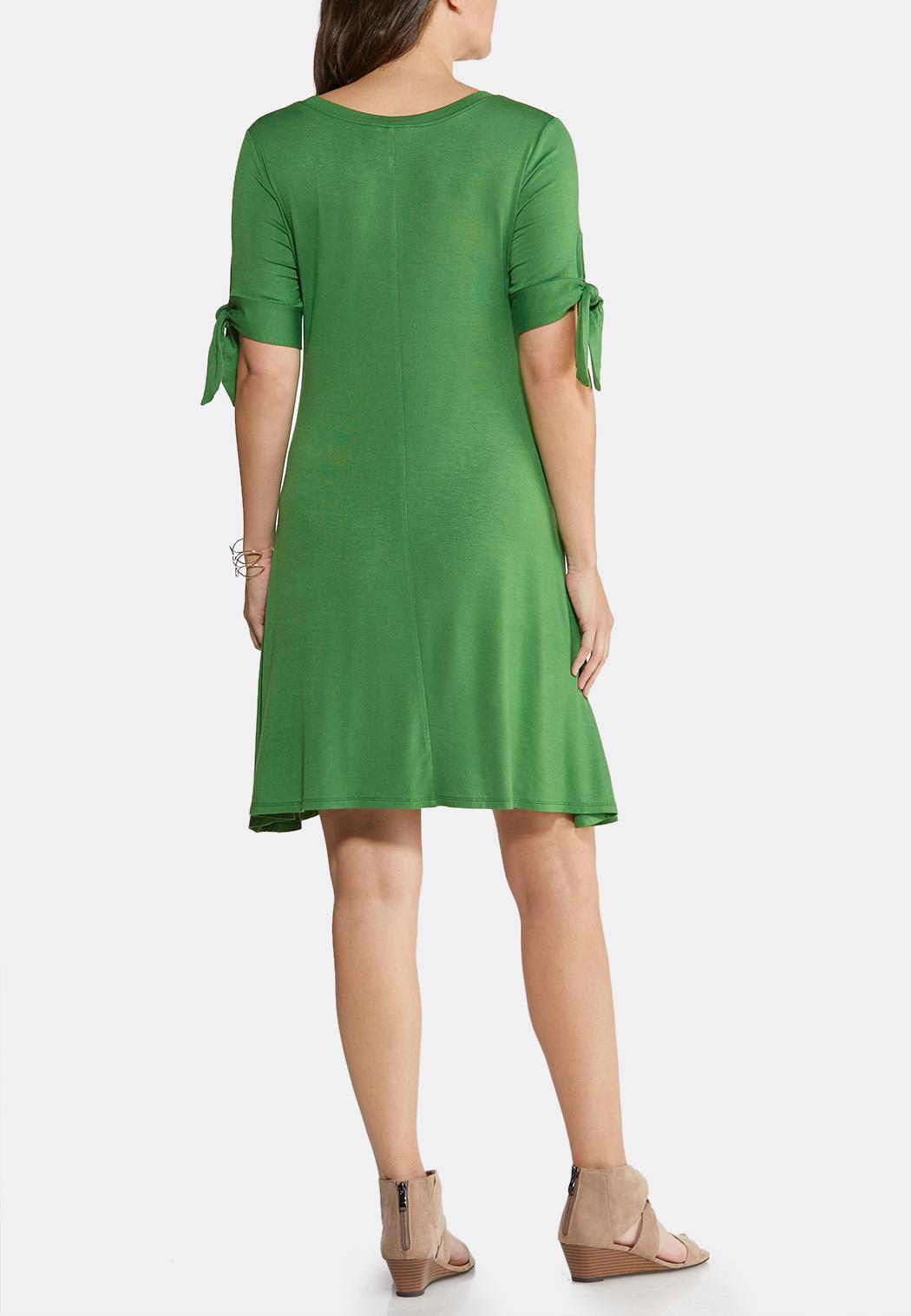 07cdf8251bca Plus Size Bow Sleeve Swing Dress Summer Dresses Cato Fashions