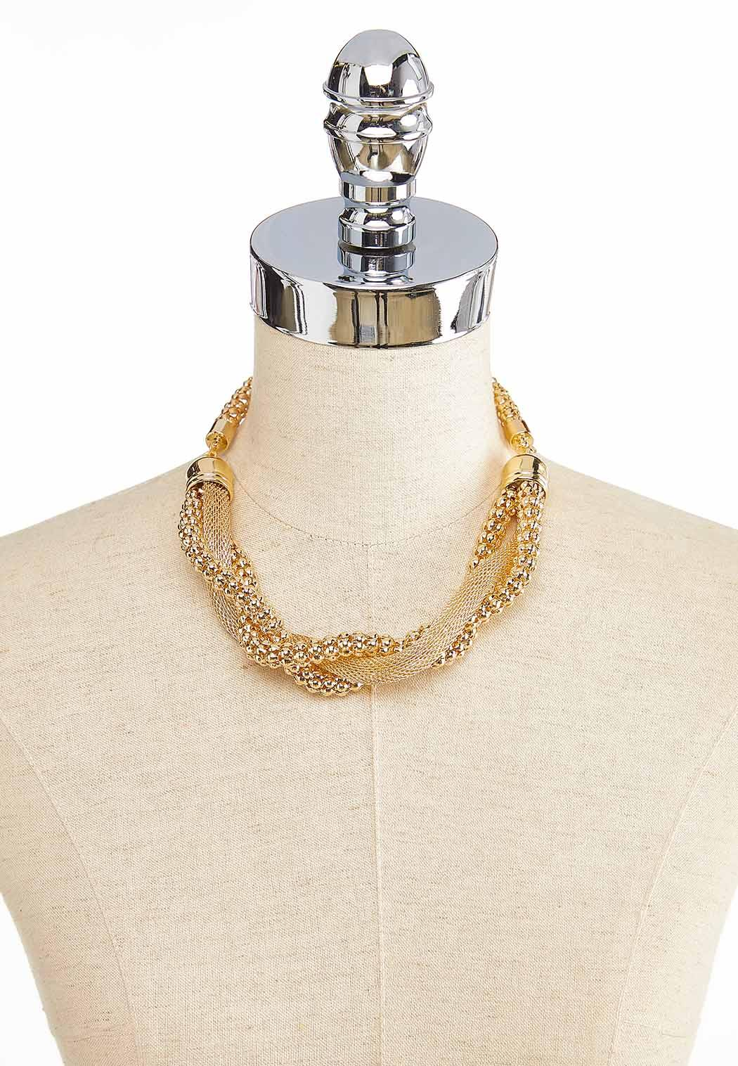 Twisted Gold Necklace (Item #43862581)