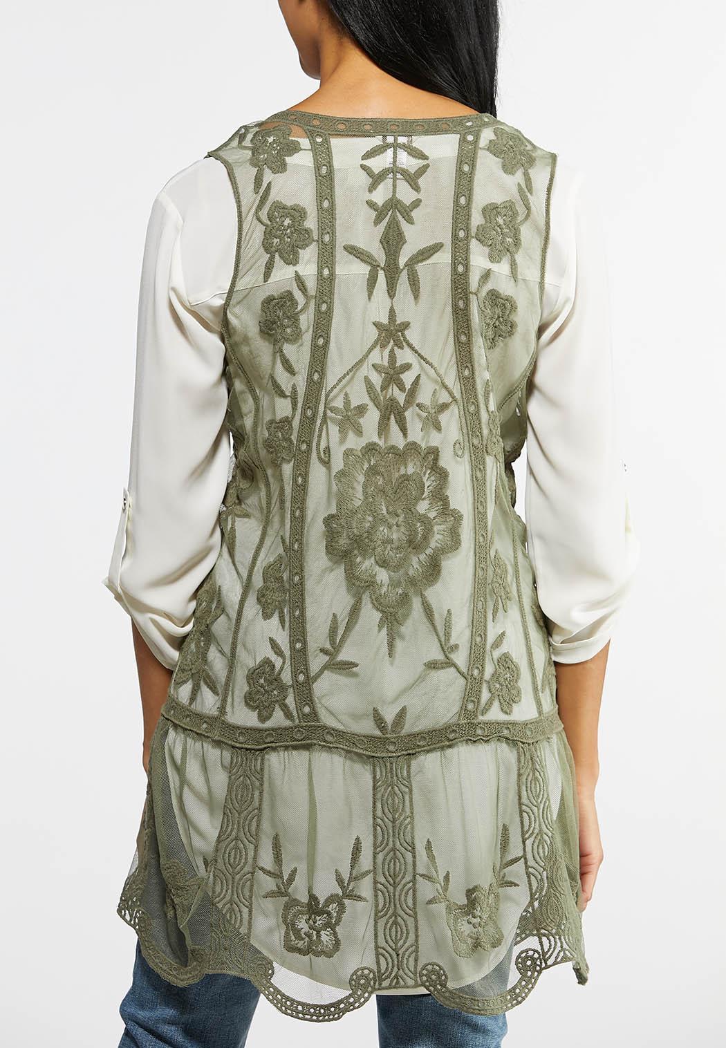 Boho Lacy Vest (Item #43871740)