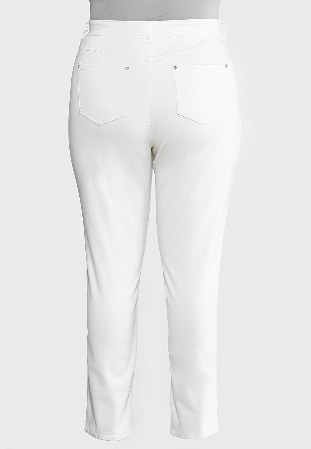 Plus Extended Skinny Stretch Jeans (Item #43888942)