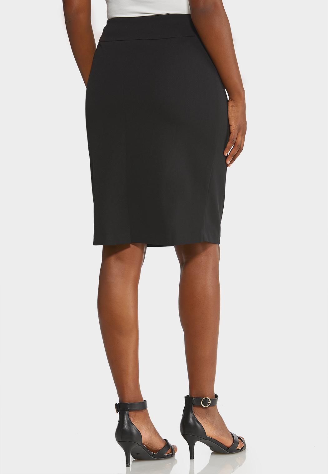 Knit Pencil Skirt (Item #43893028)